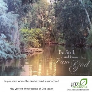 How to Be Still