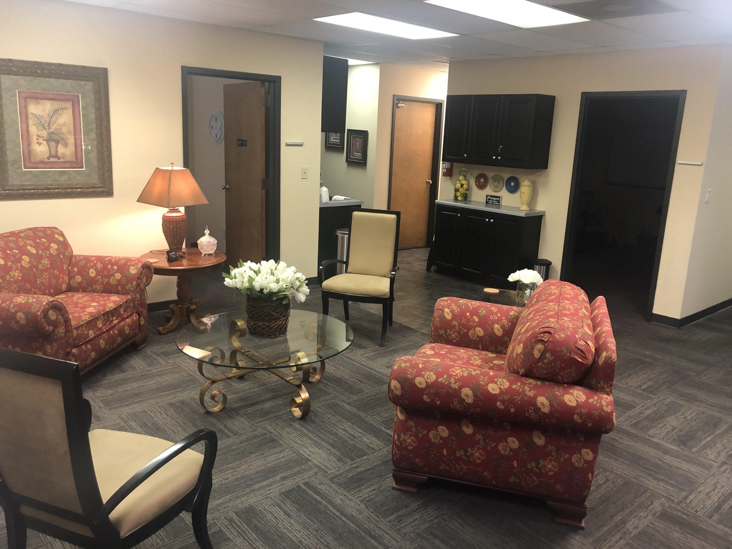 Life In Abundance - Reception Area